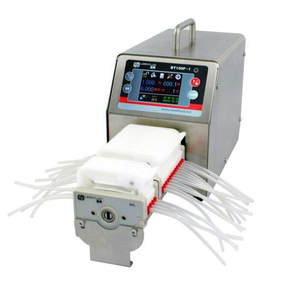 Программируемый дозирующий перистальтический насос BT100F-1 с большим крутящим моментом